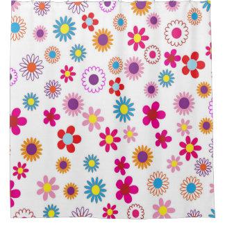 Floral Flower Design Shower Curtain