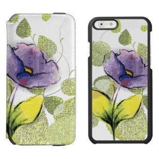 Floral Flower iPhone 6/6s Wallet Case