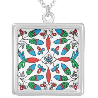 Floral Flower pendant