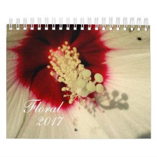 Floral Flower Photo  Calendar