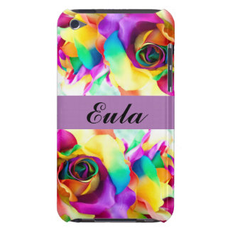 Floral Flowers Color Roses Typography Case-Mate iPod Touch Case