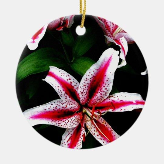 Floral Flowers Colours Art Artistic Beautiful fine Ceramic Ornament