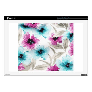 Floral Flowers Colours Art Artistic Beautiful fine Skin For Laptop