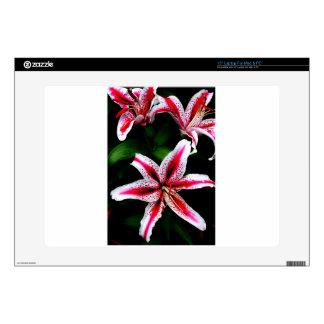 "Floral Flowers Colours Art Artistic Beautiful fine Skins For 15"" Laptops"