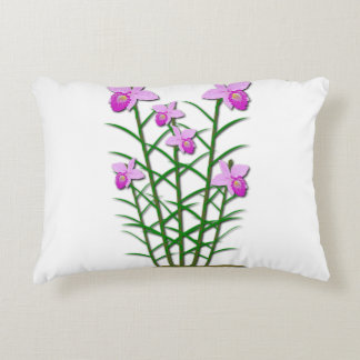 Floral Flowers Custom Personalize Anniversaries Decorative Pillow