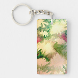 Floral Flowers Mother's Day Pretty Gifts Keychains