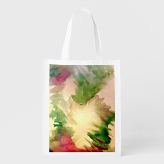 Floral Flowers Pretty Mother's Day Gifts Tote Bags Reusable Grocery Bag