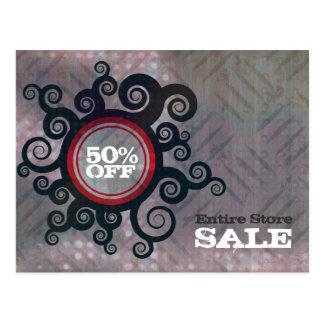 Floral Foliage Sale Promo Mailer Card