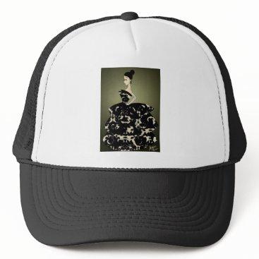 jasmineflynn Floral Formal Trucker Hat