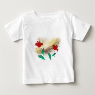 Floral Frac Baby T-Shirt