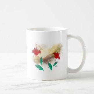 Floral Frac Coffee Mug