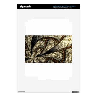 Floral Fractal #2 Skin For iPad 3