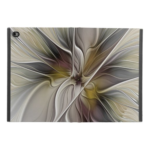 Floral Fractal, Fantasy Flower with Earth Colors iPad Mini 4 Case