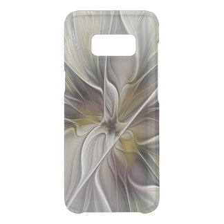 Floral Fractal, Fantasy Flower with Earth Colors Uncommon Samsung Galaxy S8 Case