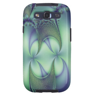 Floral Fractal Web Samsung Galaxy S3 Case