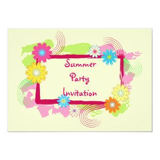 Floral frame - Invitation