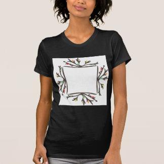Floral frame t-shirts