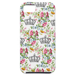 Floral French Crowns iPhone 5 Cases