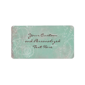Floral French Toile & Vintage Charm Custom Labels