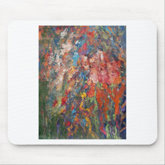 Floral Frenzy Mouse Pad