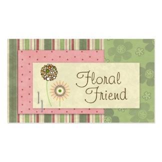 Floral Friend Business Cards