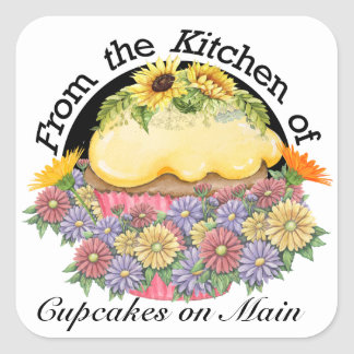 Floral From the Kitchen Sticker