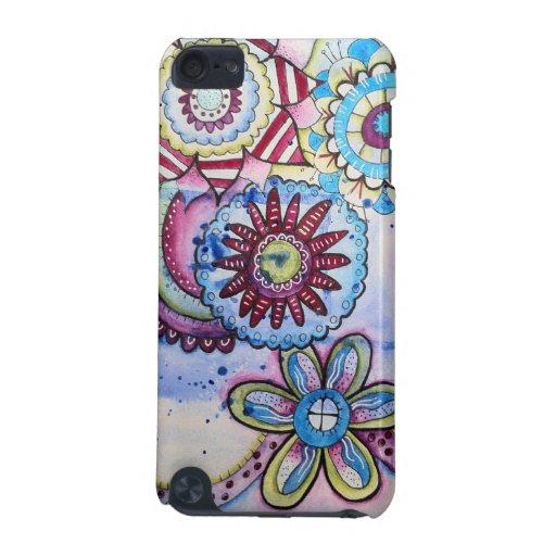 Floral Fun iPod Touch 5G Cases