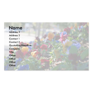 Floral Garden Business Card Large Format