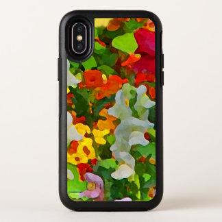 Floral Garden Flowers OtterBox iPhone X Case
