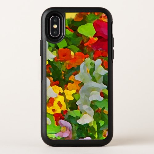 Floral Garden Flowers OtterBox iPhone X Case Phone Case