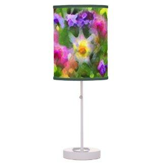 Floral Garden Impressions Desk Lamp