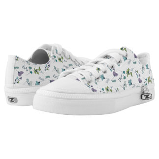 Floral Garden Low Top Shoes
