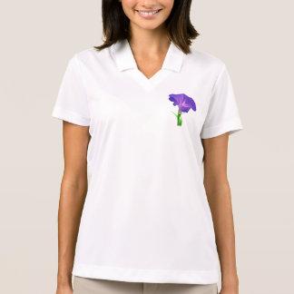 Floral Garden Park Peace Love Polo Shirt