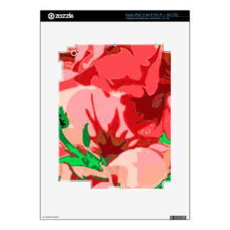 Floral garden skins for iPad 3