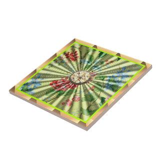 Floral Garden Tile