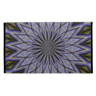 floral geo pattern mf iPad folio cover