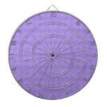 Floral geométrico púrpura de la diversión tablero dardos