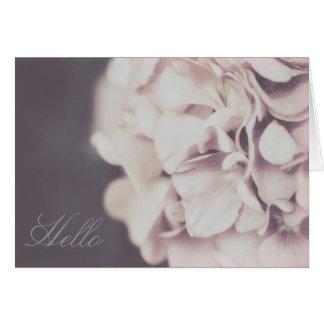 Floral - Geranium Card