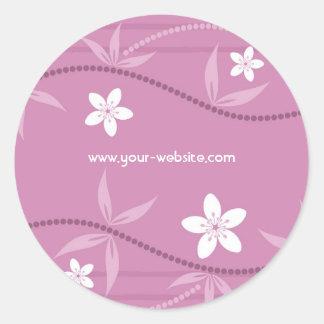 Floral Gift Sticker