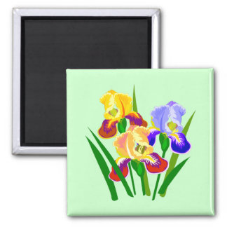 Floral Gifts 2 Inch Square Magnet