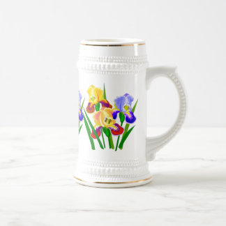 Floral Gifts Beer Stein