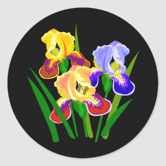 Floral Gifts Classic Round Sticker