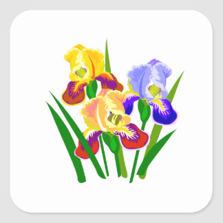 Floral Gifts Square Sticker