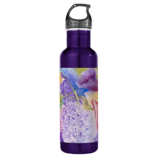 Floral Glory Dos Stainless Steel Water Bottle