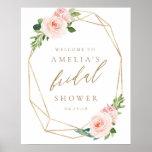 """Floral Gold Bridal Shower Welcome Sign<br><div class=""""desc"""">Floral Gold Bridal Shower Welcome Sign</div>"""
