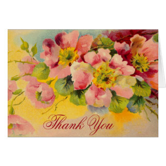 Floral gracias por traer alegría a mi vida felicitación