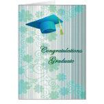 Floral Graduation Greeting Card