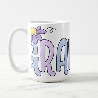 Floral Grandma Mug
