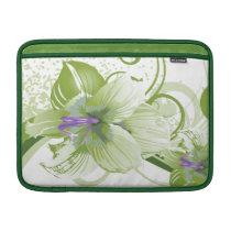 floral green  elegance MacBook air sleeve