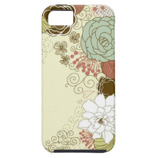 Floral Greeting iPhone 5 Cases